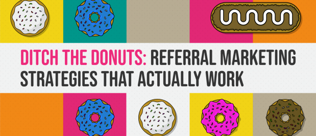 mosaic of donuts in webpt doughnut themed webinar logo