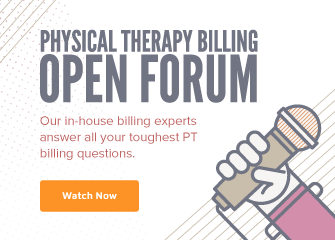 Mobile Ad Physical Therapy Billing Open Forum Webinar
