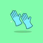 two magic hands clapping in mid are with sparkles coming out.