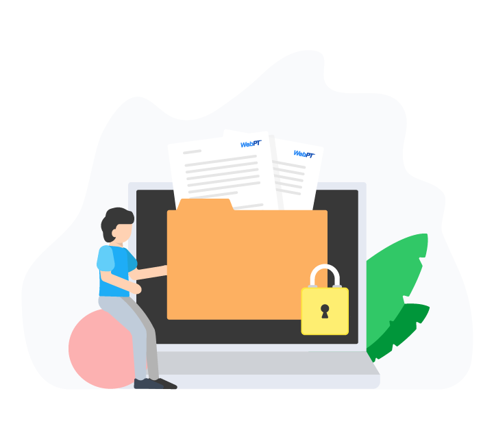 Small Businesses secure Illustration