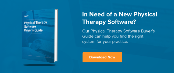 Desktop Ad Physical Therapy Software Buyers Guide