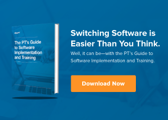 Mobile Ad The PTs Guide to Software Implementation and Training