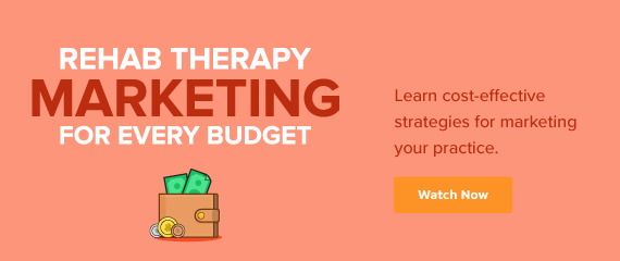 Desktop Rehab Therapy Marketing Webinar Ad