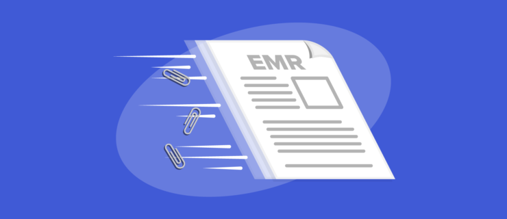 EMR document zooming from left top right really really really fast